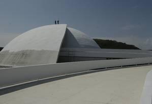 Inaugurado em 2013, o prédio nunca foi aberto ao público. Foto: Antonio Scorza / Agência O Globo
