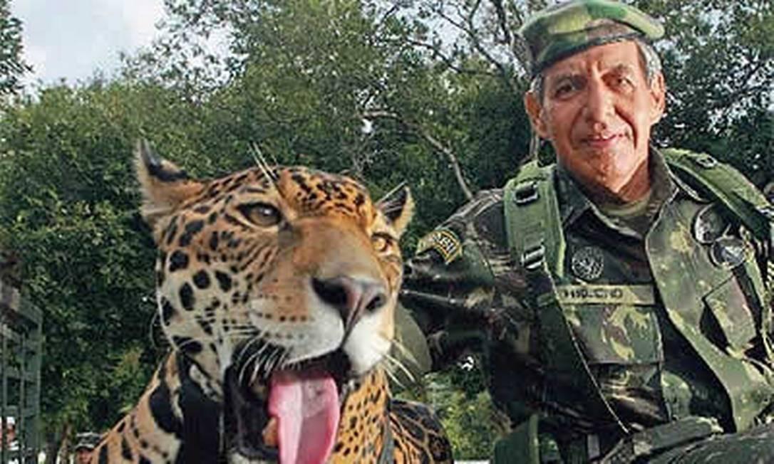 General Augusto Heleno, ministro do GSI Foto: Reprodução