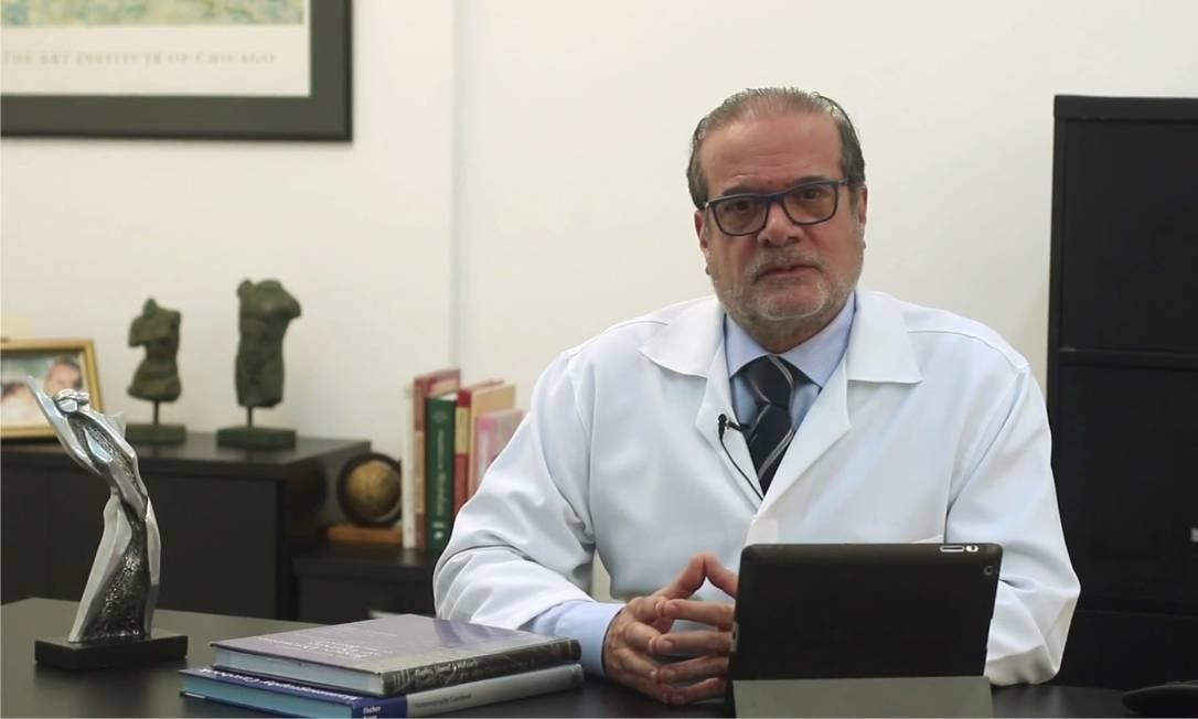 Pesquisador em tecnologia de prevenção ao câncer, médico Henrique Pasqualette diz que diagnóstico precoce é a principal mudança dos últimos anos Foto: Divulgação