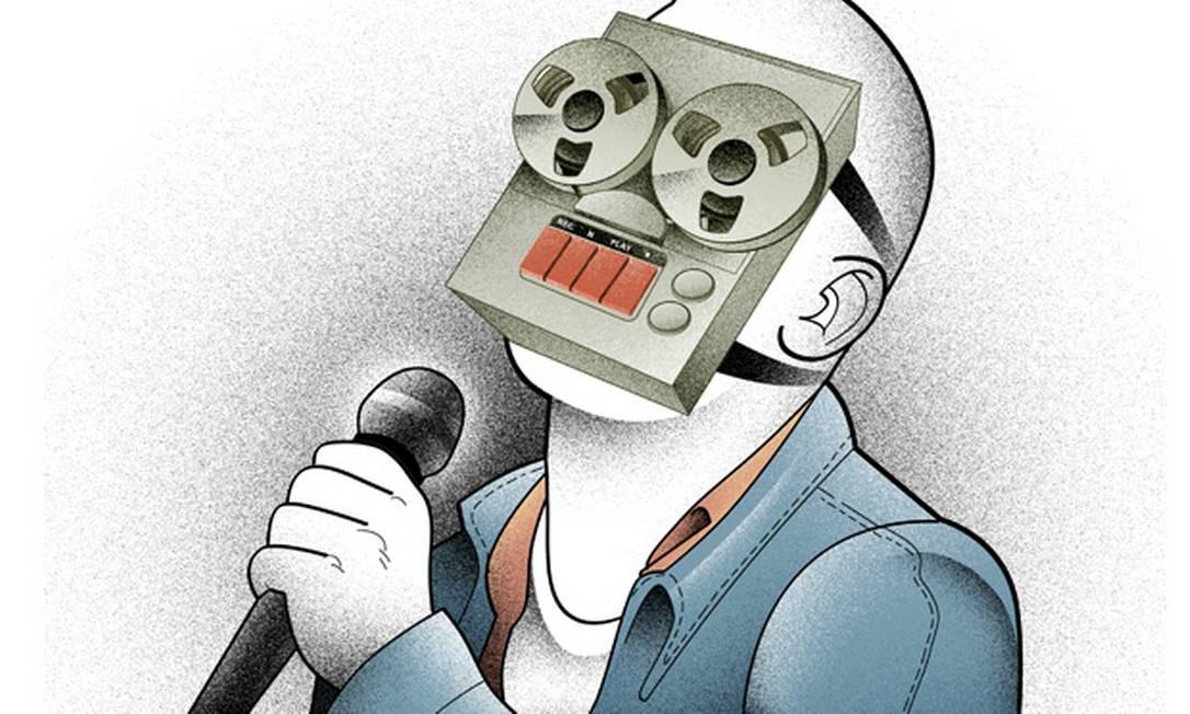 Playback: truque para uns, recurso fundamental para outros Foto: Arte de André Mello