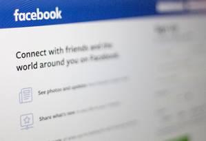 """Facebook planeja lançar seção de """"notícias"""" nas próximas semanas Foto: ALASTAIR PIKE / AFP"""