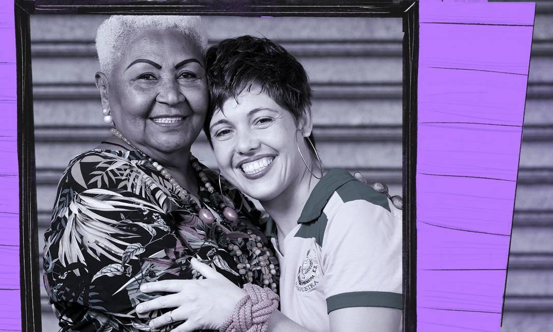 Dona Zezé e Manu da Cuíca são algumas das poucas mulheres que brilham entre compositores Foto: Arte sobre foto de Leo Martins