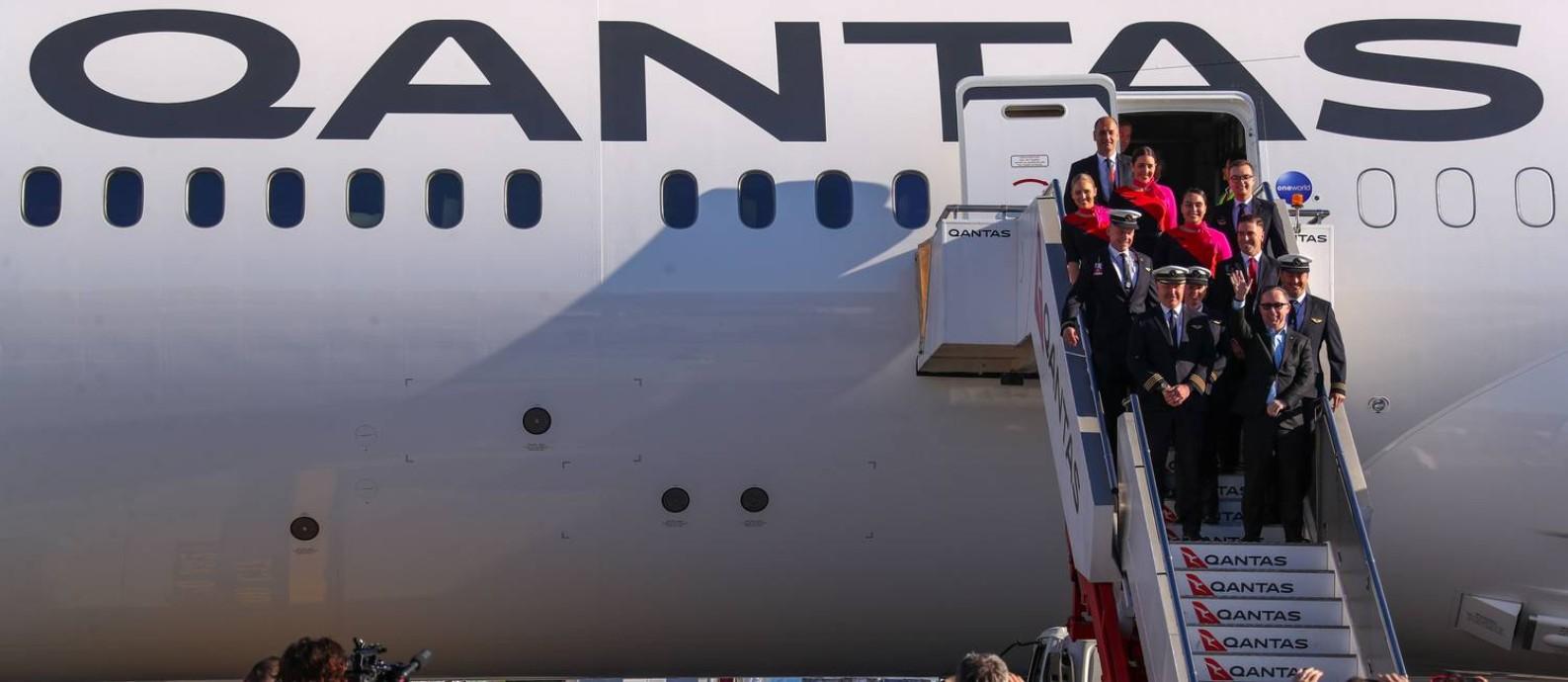 Quatro pilotos comandaram a aeronave em sistema de turnos Foto: DAVID GRAY / AFP