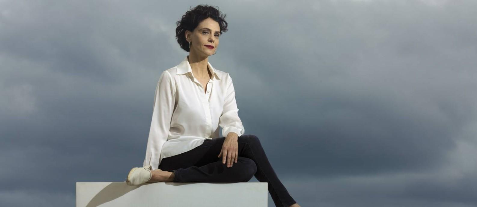 A atriz Malu Galli posa no Rio de Janeiro Foto: Leo Martins / Agência O Globo