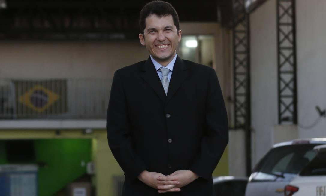 """Sem fronteira. Diego Carvalhar: """"Acredito que posso ter um retorno melhor se não ficar restrito ao mercado brasileiro"""" Foto: MARCELO THEOBALD"""