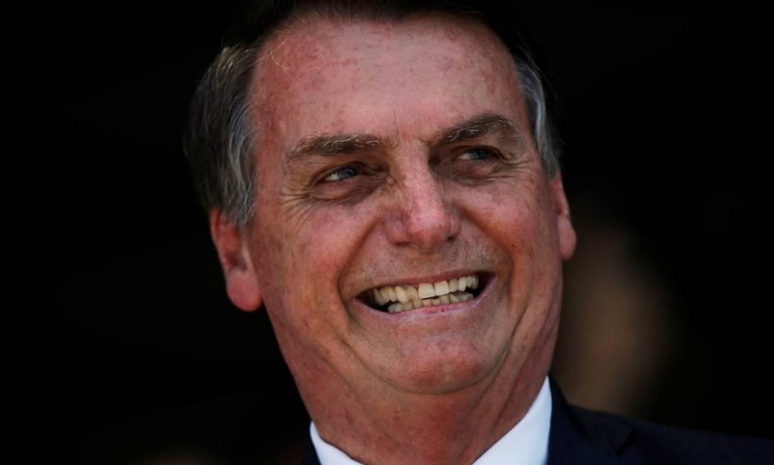 O presidente Jair Bolsonaro Foto: Reuters