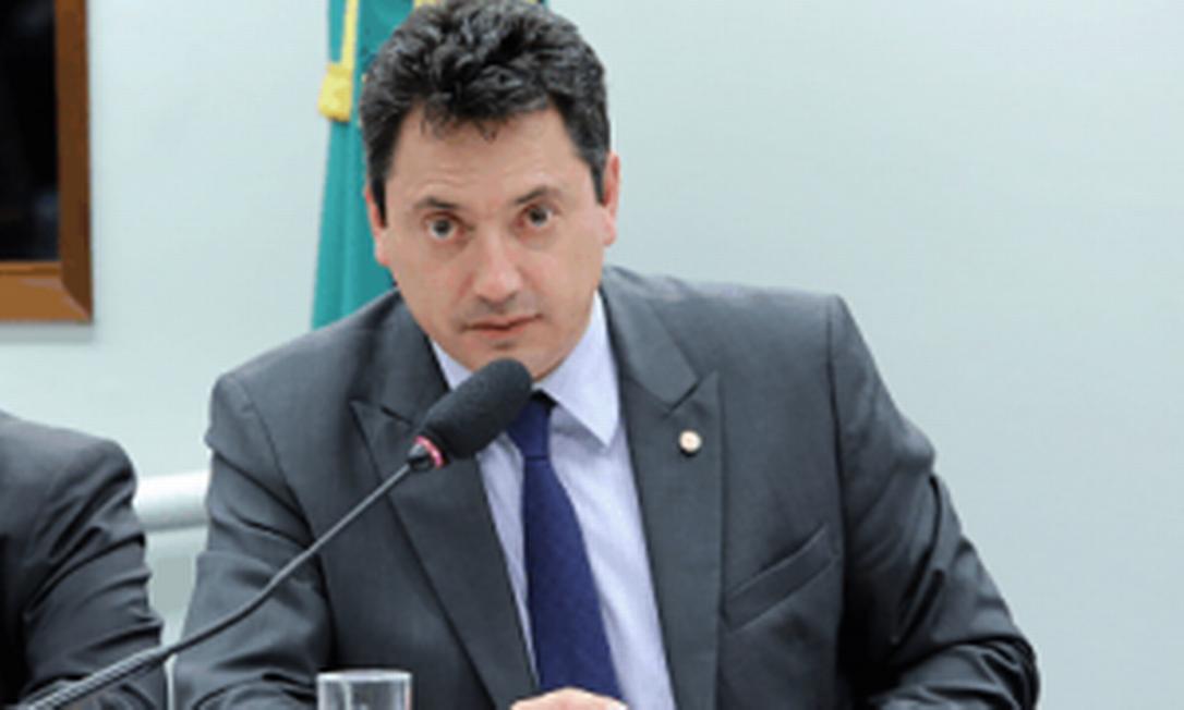 Deputado Sérgio Souza, do MDB do Paraná: alvo de operação da PF Foto: Divulgação