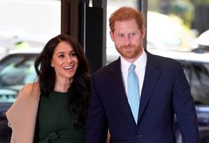 Harry e Meghan Foto: TOBY MELVILLE / AFP