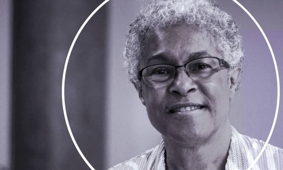 Patricia Hill Collins foi a primeira mulher negra a presidir a Associação Americana de Sociologia Foto: Arte sobre foto de Divulgação