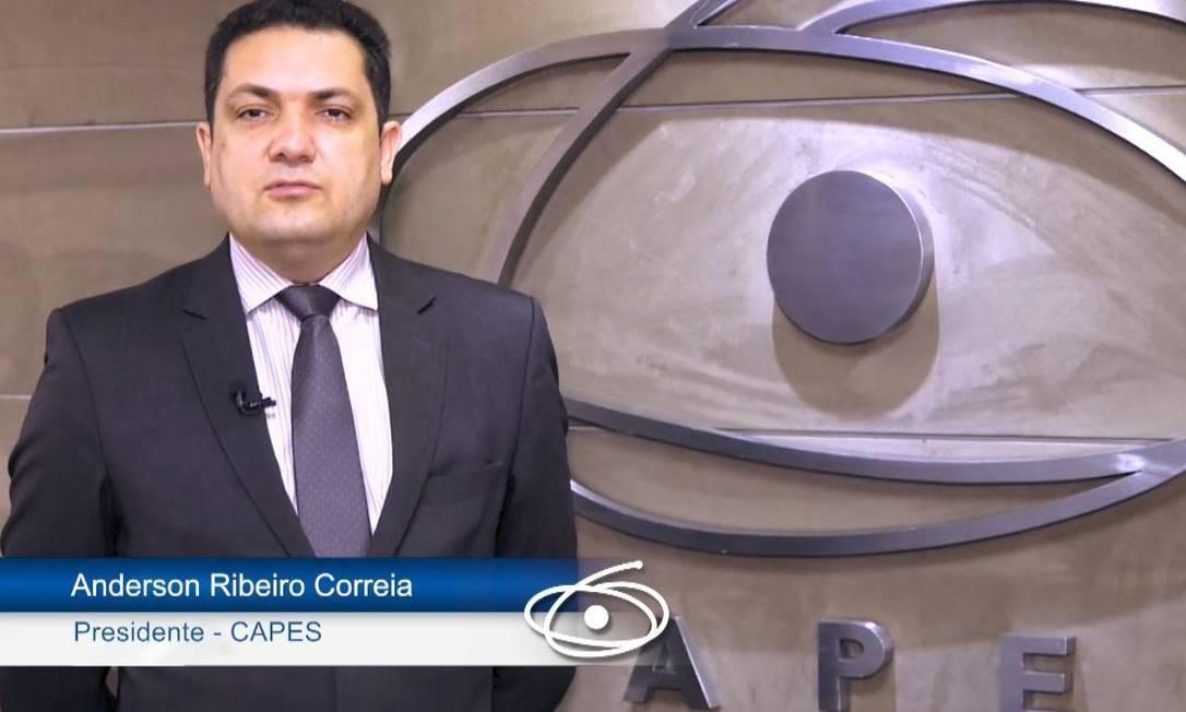 O presidente da Capes afirmou que teto de bolsas buscará 'priorizar programas de alta qualidade' Foto: Divulgação