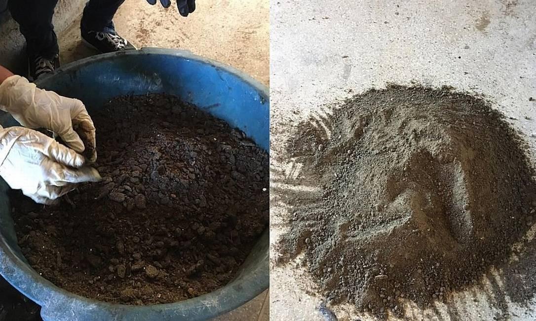 Transformação do óleo em carvão: pesquisa afirma que processo não é poluente e pode ser usado por empresas em grande escala Foto: Divulgação