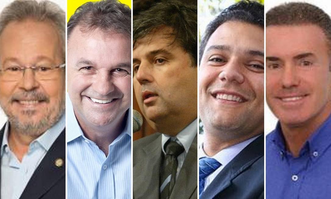 Cinco deputados presos na Operação Furna da Onça receberam a permissão da Alerj nesta terça-feira (22/10) para serem soltos Foto: Reprodução