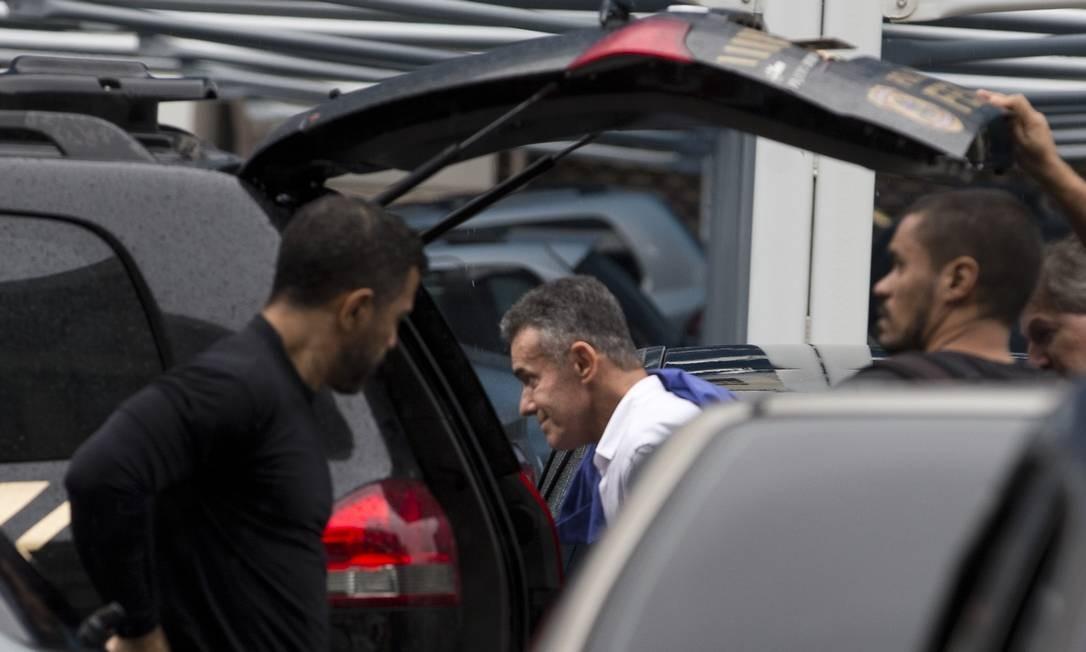 A operação Furna da Onça, iniciada em 2018, levou cinco deputados à prisão, entre eles Chiquinho da Mangueira (na foto) 08/11/2018 Foto: Márcia Foletto / Agência O Globo
