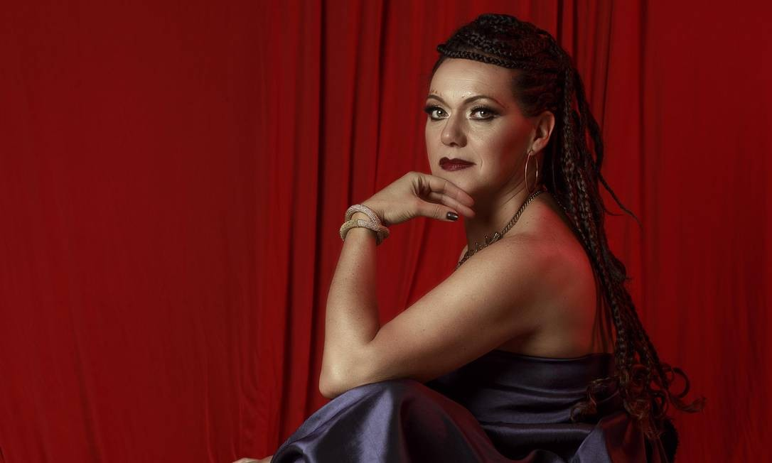 A cantora Ceumar Foto: Divulgação