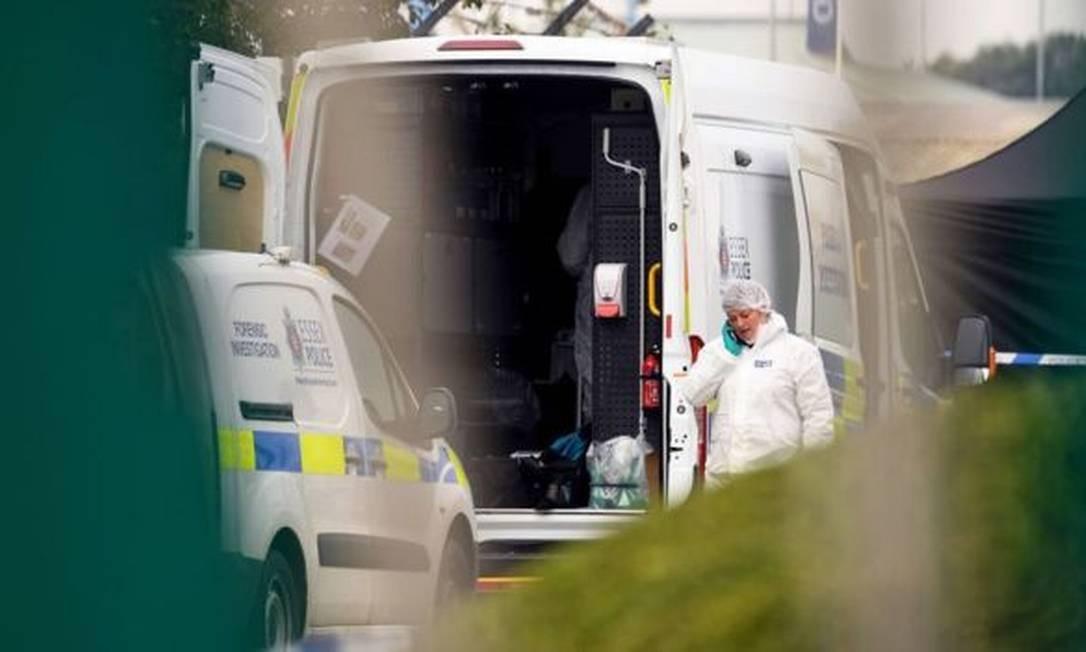 Caminhão teria saído da Bulgária e entrado no Reino Unido por Holyhead, maior cidade do condado de Anglesey no País de Gales Foto: Leon Neal / Getty Images