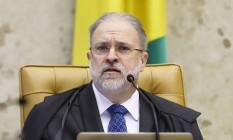 O procurador-geral da República, Augusto Aras Foto: Rosinei Coutinho / STF