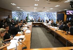 O grupo de trabalho passou sete meses discutindo o pacote anticrime Foto: Jorge William / Agência O Globo