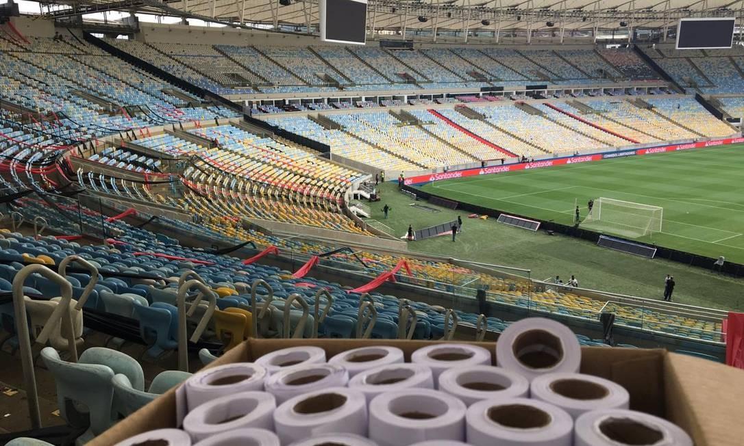 Gávea, Maracanã e Maracanãzinho são disponibilizados pelo Flamengo no combate a Covid-19 Foto: Divulgação