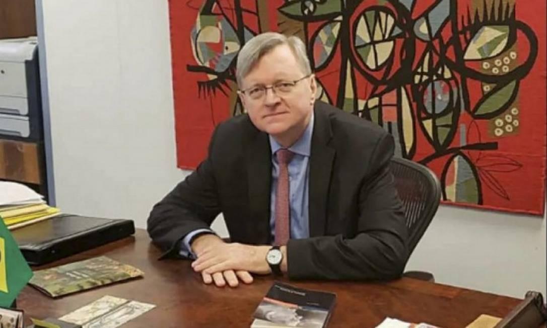Diplomata Nestor Forster. Foto: Divulgação Itamaraty