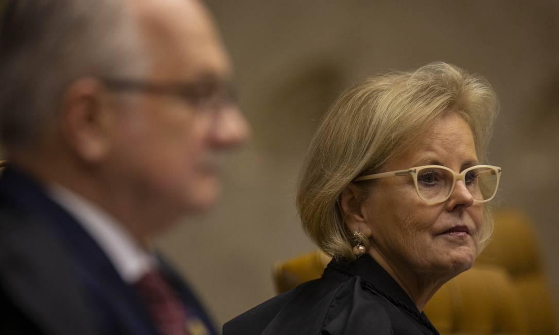 Voto da ministra Rosa Weber dará voto decisivo em julgamento sobre prisão em segunda instância Foto: Daniel Marenco / Agência O Globo