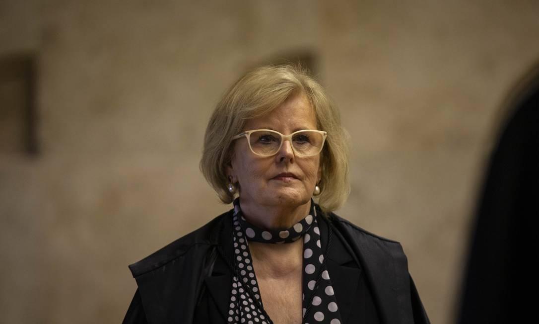 A ministra do STF Rosa Weber 24/10/2019 Foto: Daniel Marenco / Agência O Globo