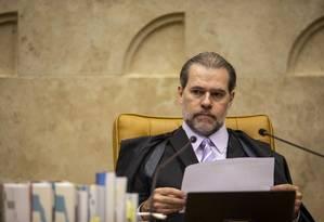 O presidente do STF, ministro Dias Toffoli 24/10/2019 Foto: Daniel Marenco / Agência O Globo