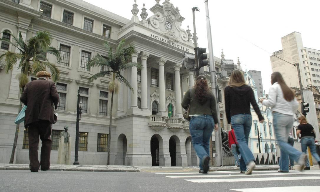 Faculdade de Direito da USP Foto: Anderson Prado/12.11.2007 / Anderson Prado/12.11.2007