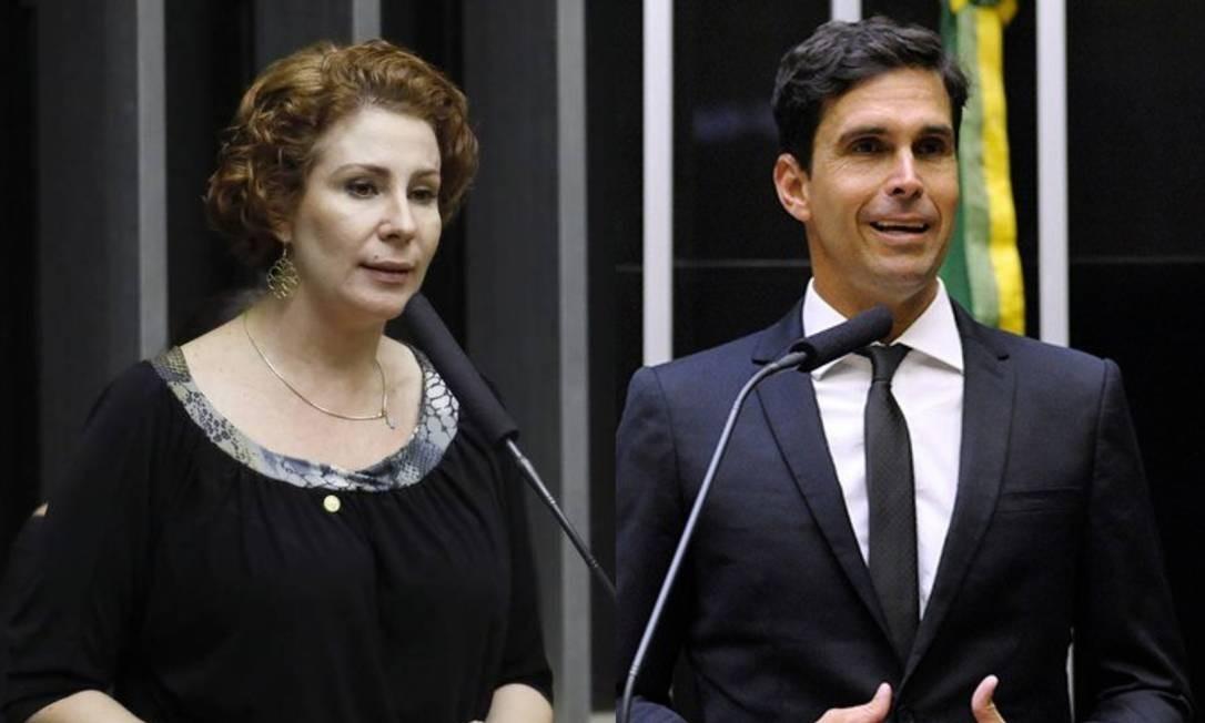 Carla Zambelli e Luiz Lima Foto: Luis Macedo/Câmara dos Deputados