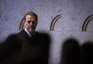 Ministro Dias Toffoli Foto: Daniel Marenco / Agência O Globo