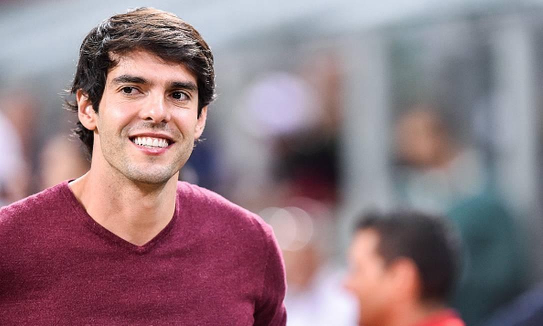 Formado em gestão esportiva, Kaká passou a atuar como palestrante Foto: NurPhoto / NurPhoto via Getty Images