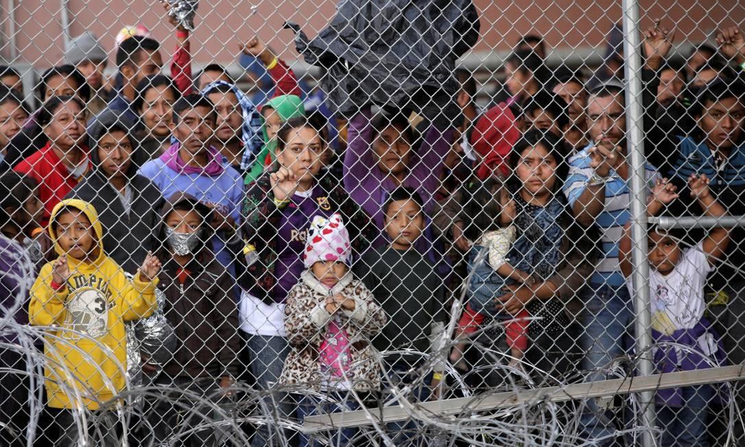 Centro de detenção de imigrantes de El Paso, onde o grupo de 57 brasileiros ficou detido por cerca de um mês Foto: JOSE LUIS GONZALEZ / Reuters