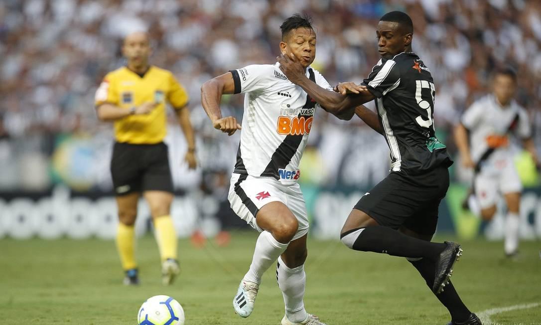 Guarin fez sua estreia como titular do Vasco Foto: Rafael Ribeiro/ Vasco