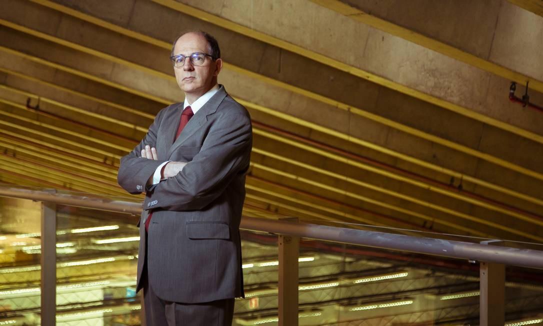 Economista Fabio Giambiagi, economista-chefe do BNDES Foto: Leo Martins / Agência O Globo