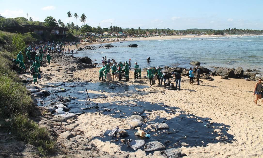 Cabo de Santo Agostinho foi um dos locais mais atingidos em Pernambuco Foto: Pedro de Paula/21.10.2019 / Agência O Globo