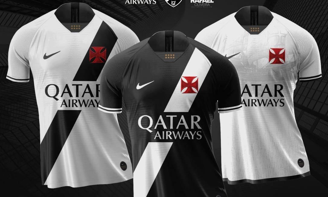 Torcida do Vasco já sonha nas redes sociais com novo uniforme para 2020 Foto: Reprodução