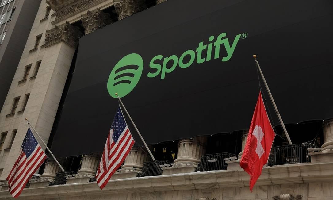 Spotify: mais assinantes. Foto: LUCAS JACKSON / Reuters