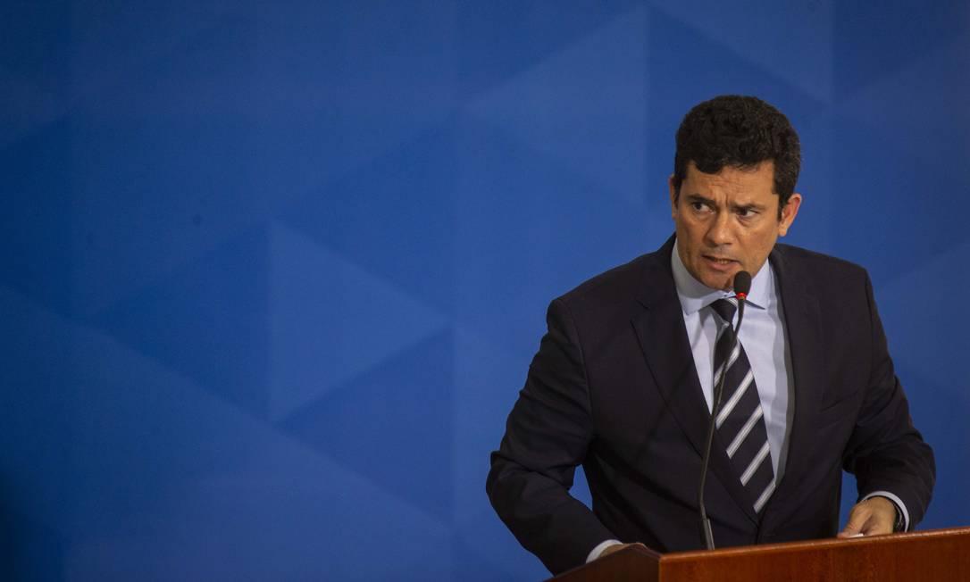 Para delegados, portaria de Moro invade competência exclusiva da Polícia Federal Foto: Daniel Marenco / Agência O Globo