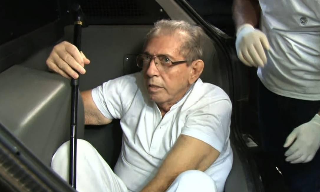 Líder religioso, acusado de crimes sexuais, volta para cadeia em junho passado Foto: O Globo