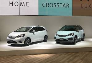 """Honda Fit: a principal atração do Salão de Tóquio surge em, duas versões. A Crosstar é a """"aventureira'' Foto: Jason Vogel / CarroETc"""