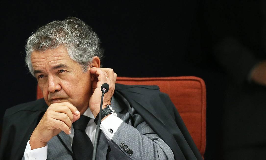 Marco Aurélio Mello, ministro do STF Foto: Ailton de Freitas / Agência O Globo