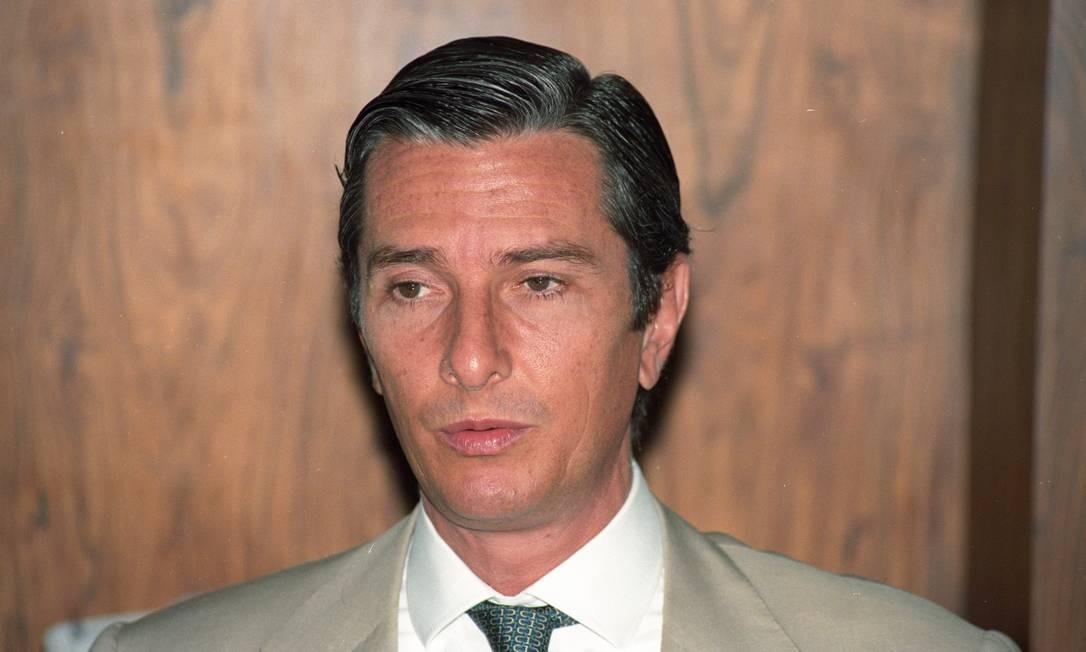 Fernando Collor, em 1992 Foto: Roberto Stuckert / Agência O Globo