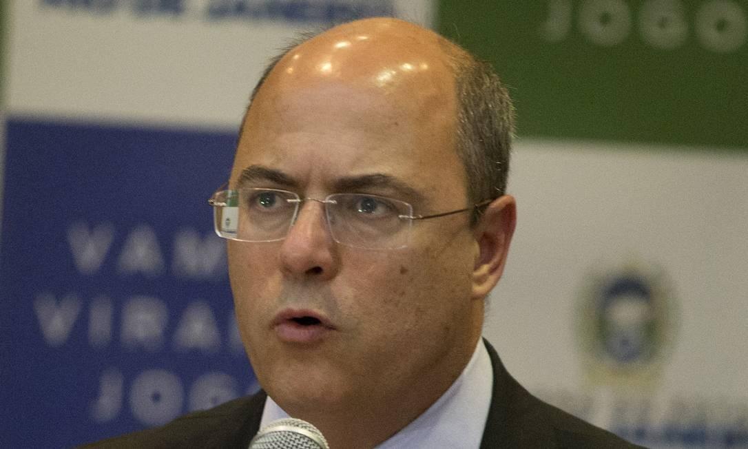 Wilson Witzel, governador do Rio de Janeiro Foto: Márcia Foletto / Agência O Globo