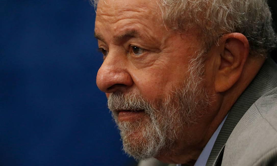 O ex-presidente Lula Foto: Igo Estrela / Getty Images