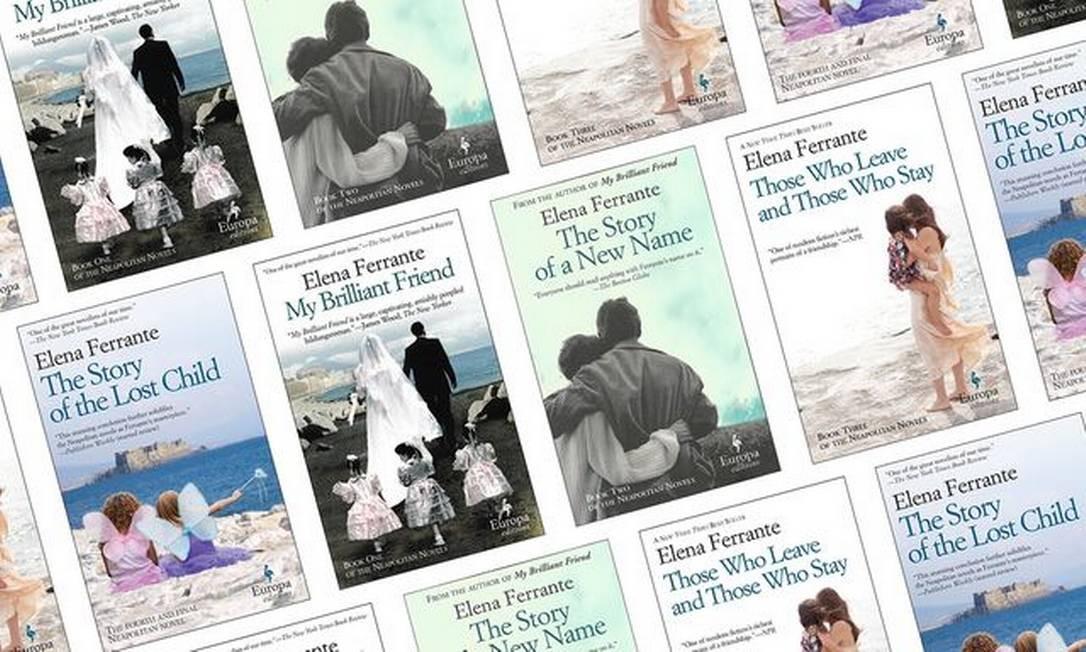 Novo livro de Elena Ferrante será lançado em novembro na Itália Foto: Reprodução
