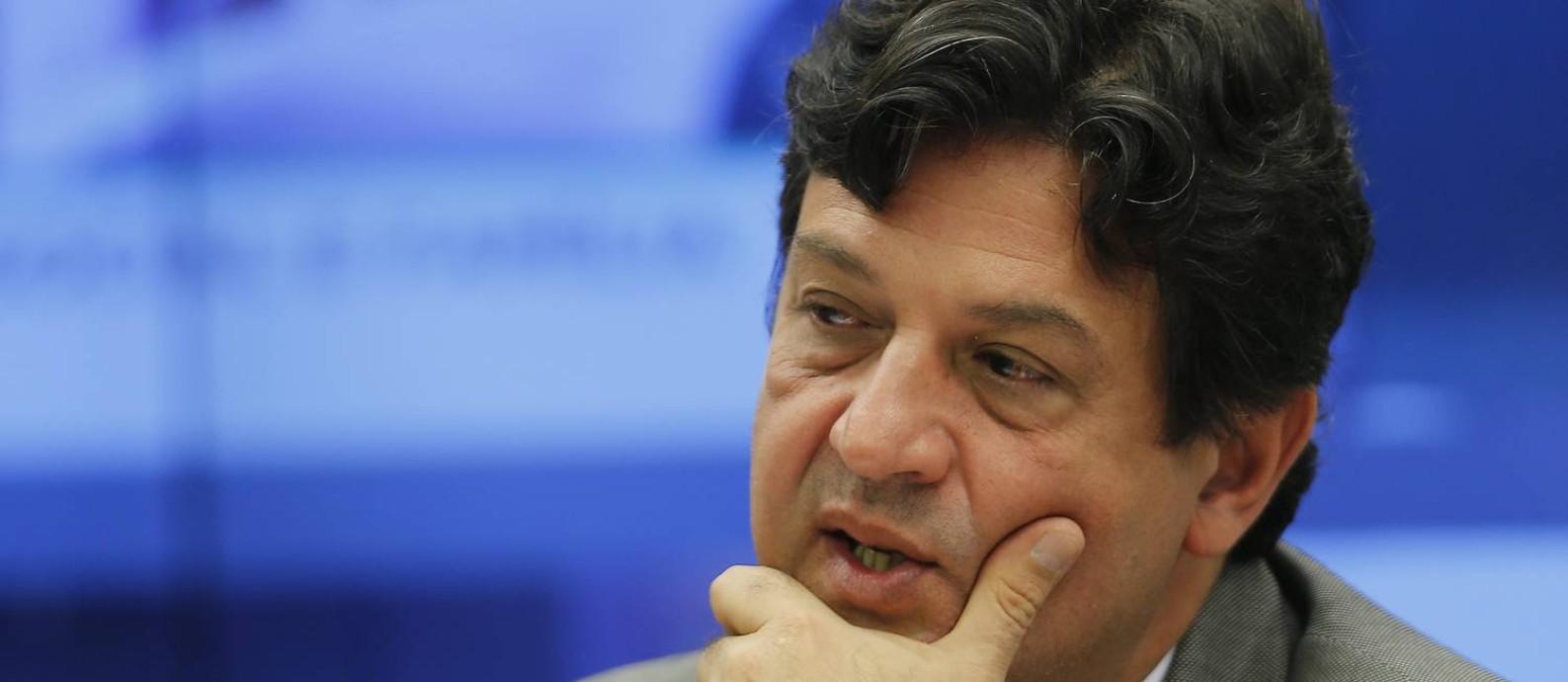 Ministro da Saúde, Luiz Henrique Mandetta. Foto: Jorge William / Agência O Globo