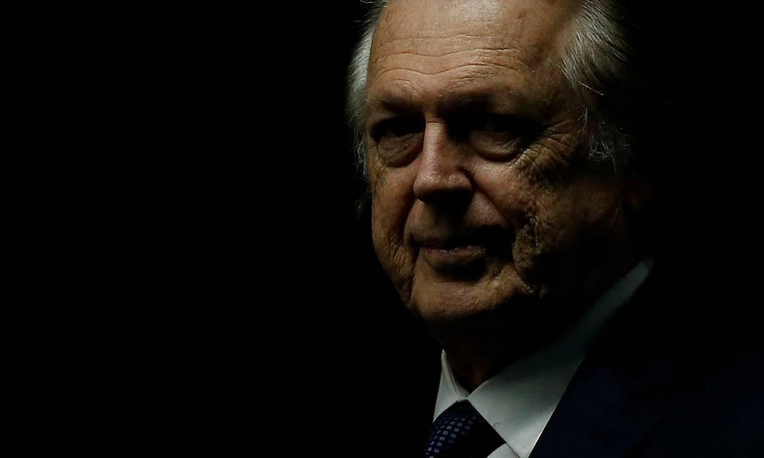 Presidente do PSL, Luciano Bivar Foto: Adriano Machado / Reuters