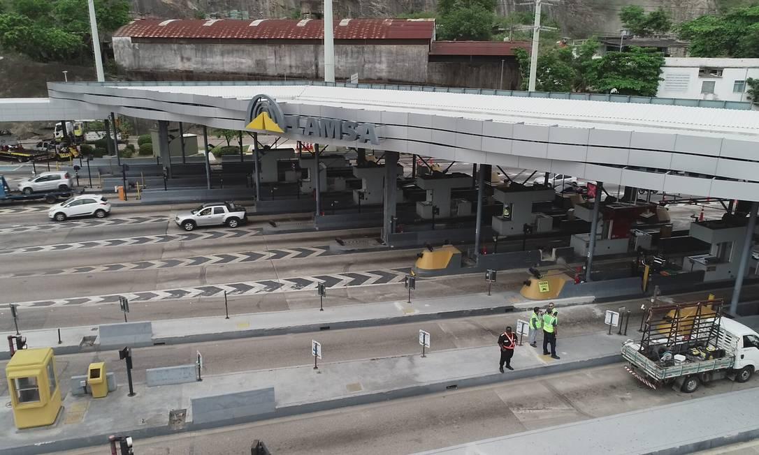 Prefeitura e Lamsa estão em pé de guerra por pedágio da Linha Amarela Foto: Renee Rocha / Agência O GLOBO