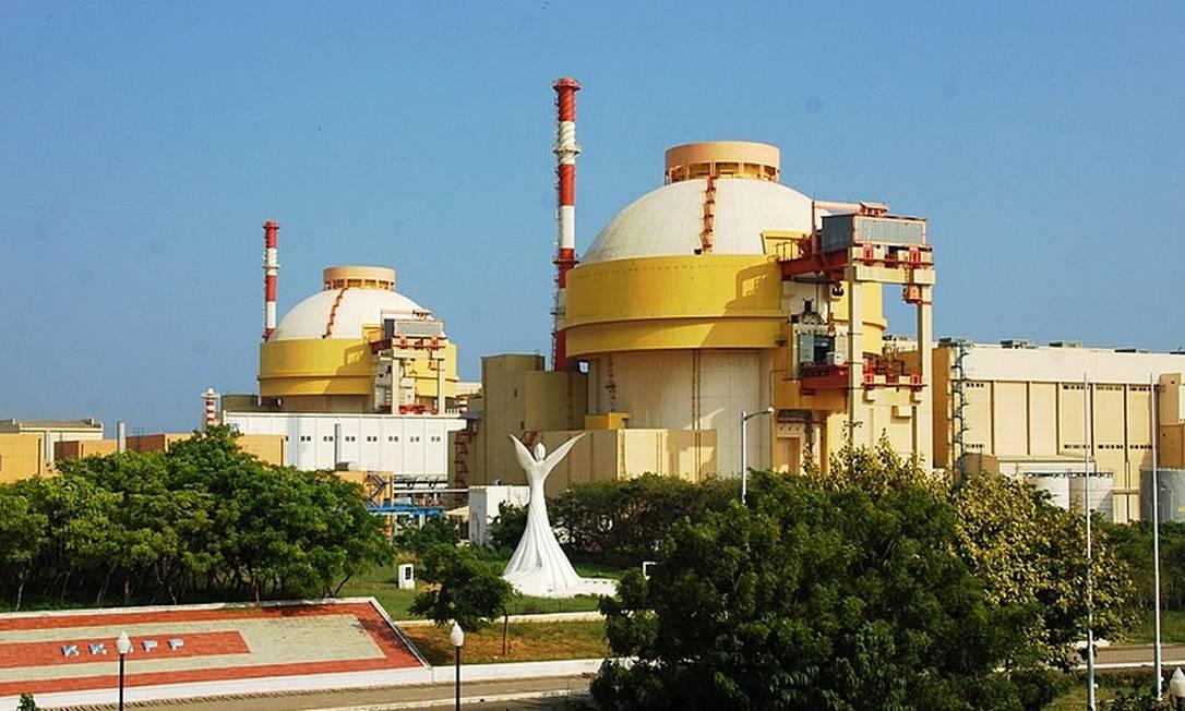 Kudankulam é usina nuclear mais recente da Índia Foto: Wikipédia