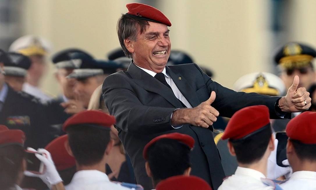 Jair Bolsonaro Foto: Jorge William/Agência O Globo