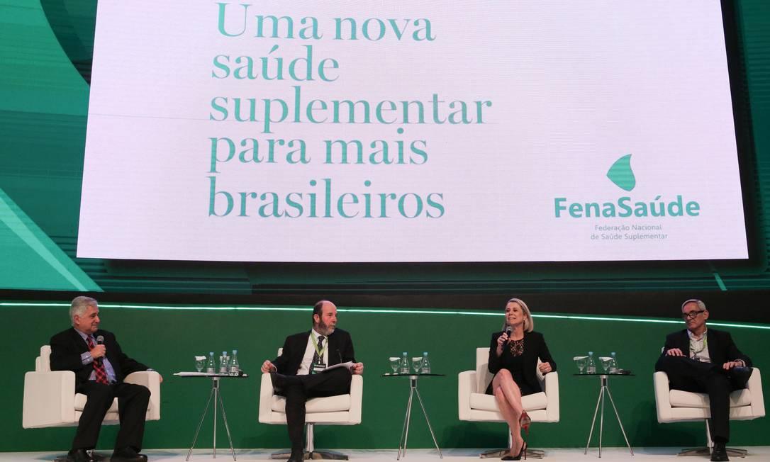 FenaSaúde defende mais opções de escolha, com planos adequados a cada pessoa Foto: André Coelho